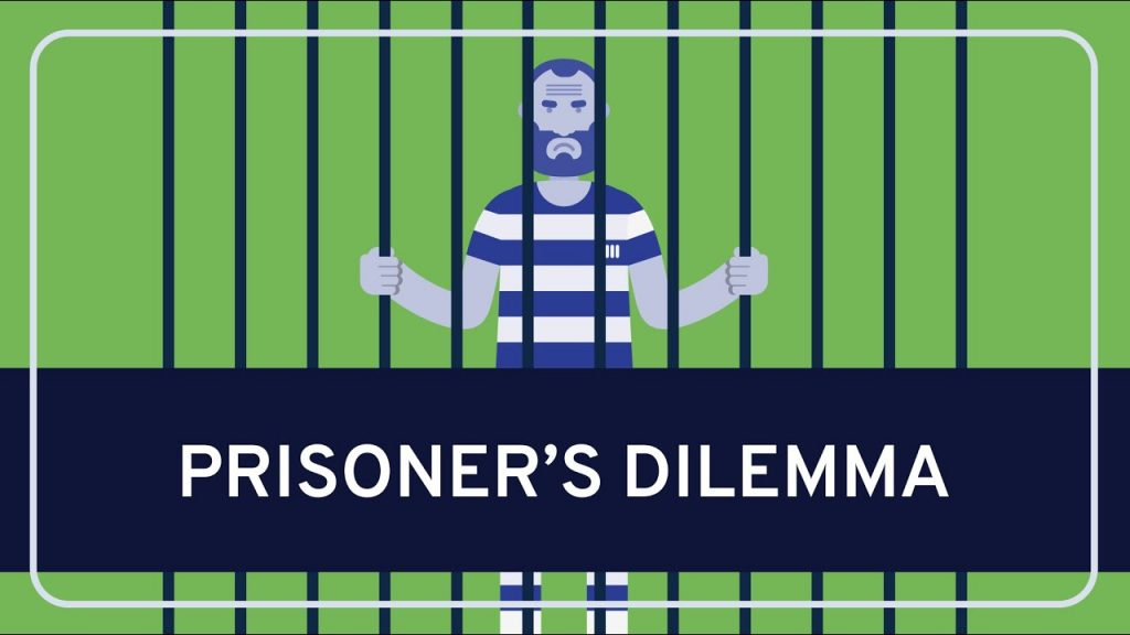 clip art image of prisoners dilemma